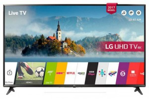 لیست قیمت تلویزیون ال جی 65 اینچ