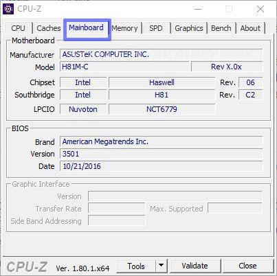 نرم افزار CPU-Z و اطلاعات کامل درباره ی پردازنده