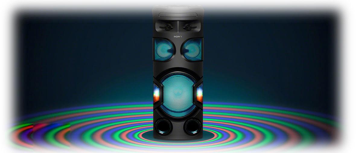 امکانات خاص سیستم صوتی سونی MHC-V72D