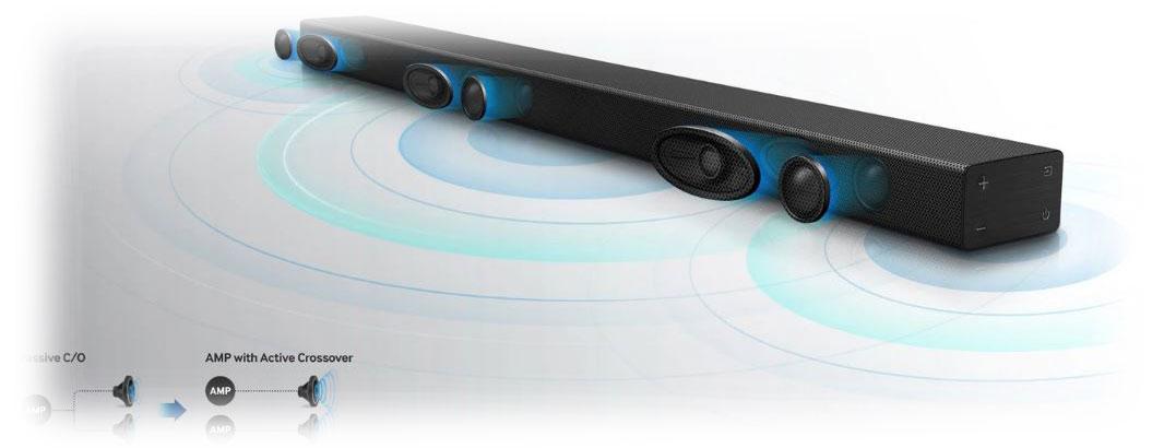 فناوری های صوتی ساندبار سامسونگ HW-K551