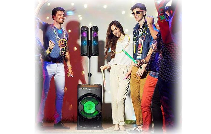 قیمت سیستم صوتی سونی 1600 وات MHC-GT4