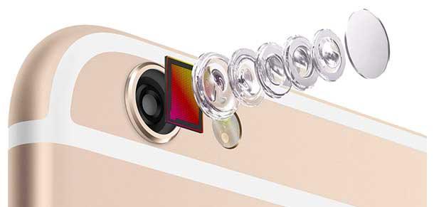 دوربین گوشی آیفون 6 پلاس