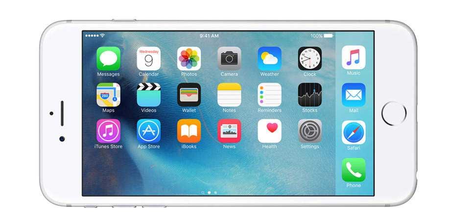 صفحه نمایش گوشی موبایل آیفون 6 اس پلاس
