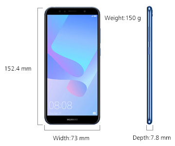 گوشی موبایل هواوی y6-prime-2018