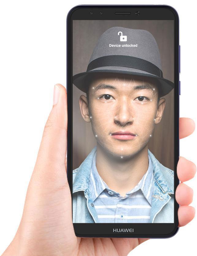 فناوری تشخیص چهره y6-prime-2018