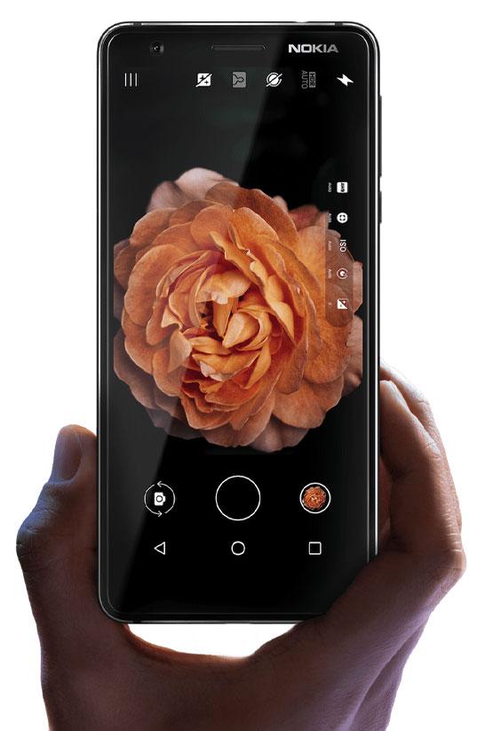 طراحی گوشی موبایل نوکیا 3.1