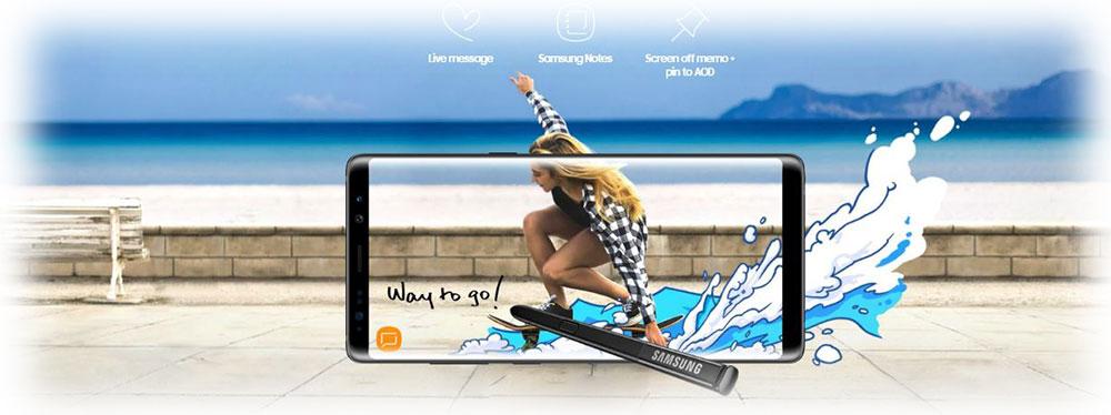 گوشی موبایل سامسونگ galaxy-note-8