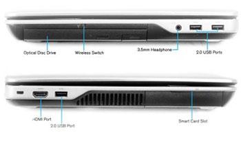 اتصالات لپ تاپ دل e6540