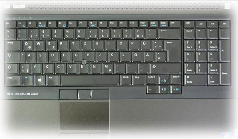 کیبورد لپ تاپ دل m6800
