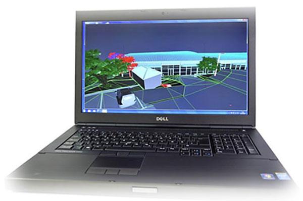 طراحی لپ تاپ دل m6800
