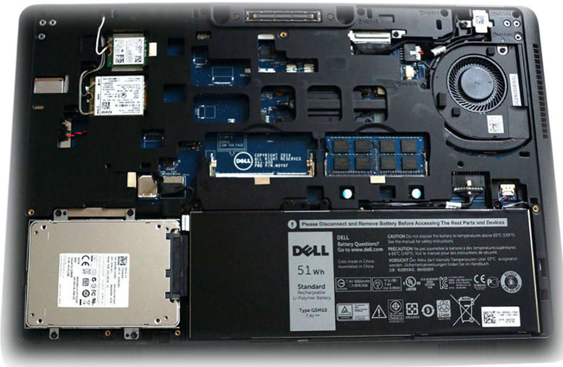 سخت افزار لپ تاپ دل e6420