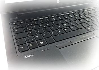 صفحه کلید لپ تاپ hp-zbook14