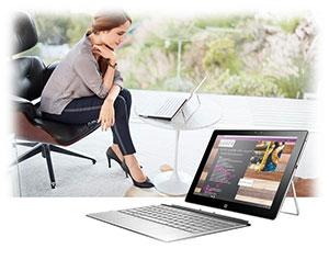 صفحه نمایش لپ تاپ spectre x2