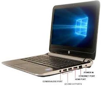 ارتباطات لپ تاپ اچ پی 210g1